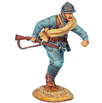 GW020 - French Infantry Charging #3 - 34th Infantry Regt