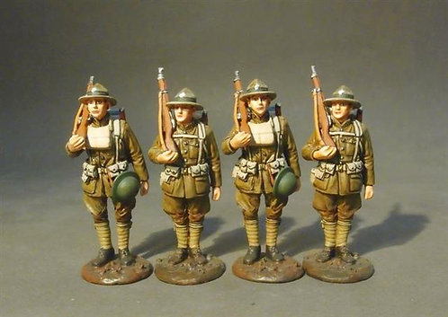 GWUS-14N - US Marine Corps, Standing Set #1   American Expeditionary Forces