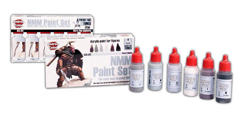 ACS-012 - NMM Paint Set - Andrea Color (Non-Metallic)