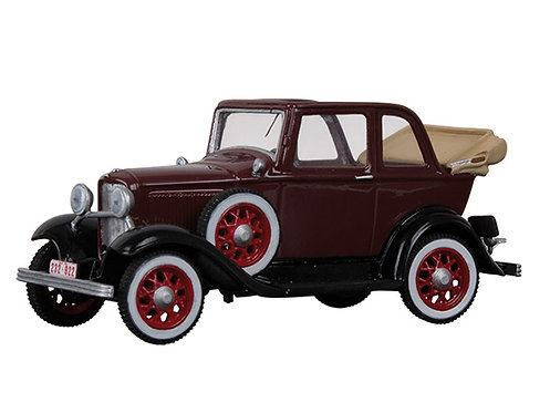 BH1202RD - 1932 Ford V-8 Convertible (Red)