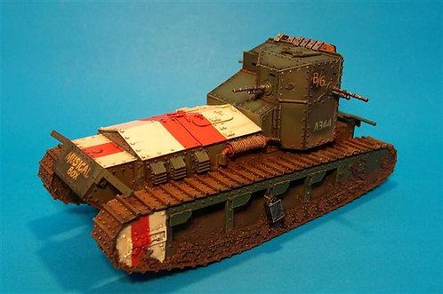 """GWB-01 - Medium Mark A, Whippet Tank  """"Musical Box"""" A/6 344  Amiens Offensive"""