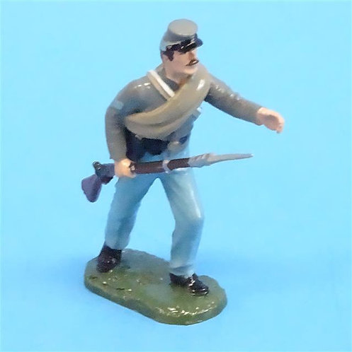 CORD-0867 Confederate Corporal - ACW - Unknown Manufacturer - 54mm Metal -No Box