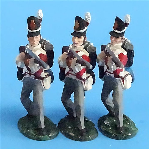 CORD-N0168 - British Infantry - Standing Firing (3 Pieces) - All the King's Men