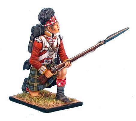 NAP0264 - 92nd Gordon Highlander Kneeling Ready