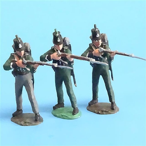 CORD-N0111 - 95th Rifles - Firing (3 Pieces) - Unknown Manufacturer - 54mm Metal