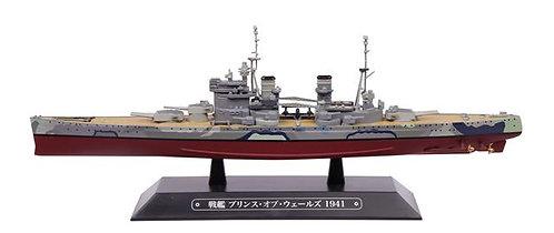 "EAGC46 - British Royal Navy Battleship Prince of Wales - 1941  Length: 8.1"""