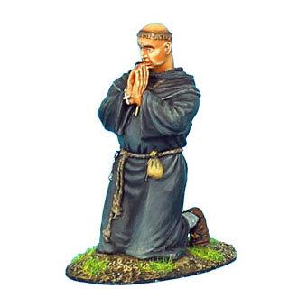 CRU062 - Monk Kneeling Praying