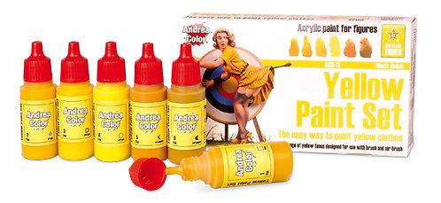 ACS-011 - Yellow Paint Set - Andrea Color