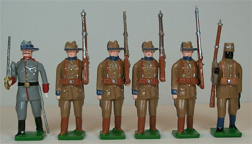 G320 - German Schutztruppe, Africa Corps - 6 pieces