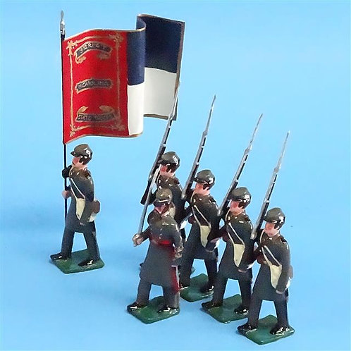 COWF-0153 - 3rd North Carolina Volunteer Infantry Regiment with Flag