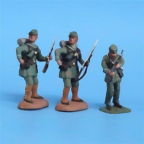 CORD-070 -Berdan's Sharpshooters (3 Figures) - Manufacturer Unknown - 54mm Metal