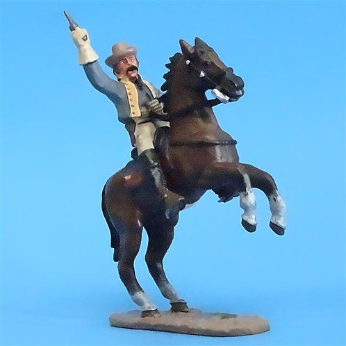 CORD-1060 - Confederate Cavalry - ACW - Del Prado - 60mm Metal - No Box