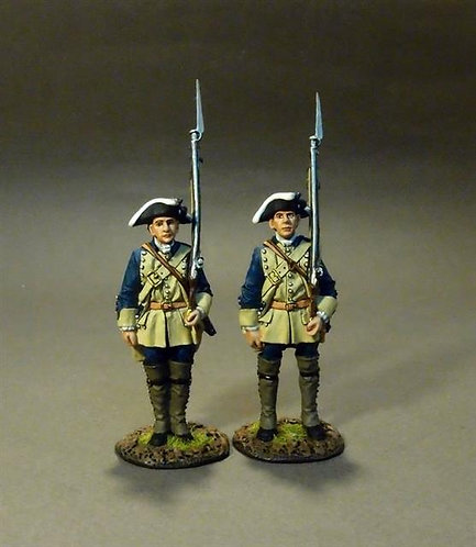 RRBSC-03 - South Carolina Provincial Regiment, 2nd Line Infantry at Attention