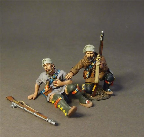 MF-04W - French Militia, Montreal Brigade 2 Militia Casualties