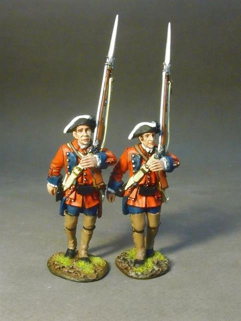 RRB60-12 - 2 Line Infantry Marching  60th (Royal American) Regiment of Foot