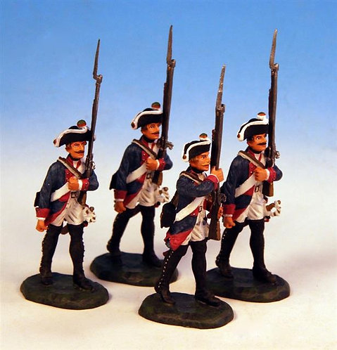 PUS.2 - 4 Marching, Musketeer Company