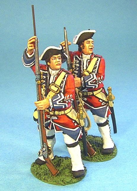 BJ-02 - British 4th Regiment of Foot, (Barrell's) Line Infantry Loading