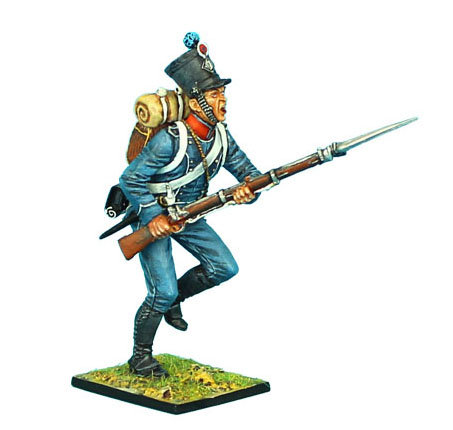 NAP371 - French 1st Light Infantry Chasseur Charging