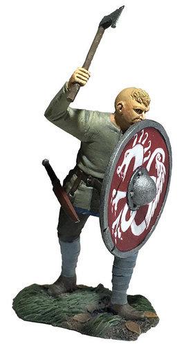"62121 - ""Gustav"" Viking Pushing With Shield"