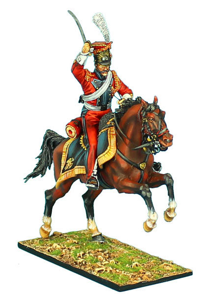 """NAP421 - 2nd Dutch """"Red"""" Lancers of the Imperial Guard NCO"""