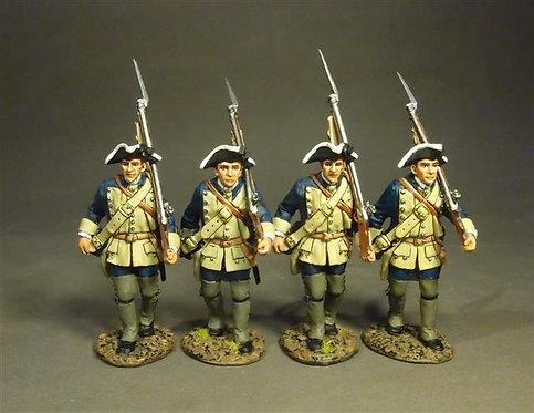 RRBSC-06N - South Carolina Provincial Regiment, Line Infantry Marching Set