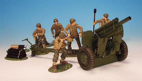 WUSA.1 - 105mm Howizter, 5 Man Detachment Firing