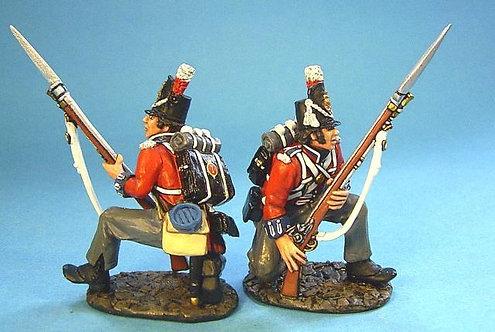 BCH-01 - 1st Royal Scots 2 Kneeling Figures (2pcs)