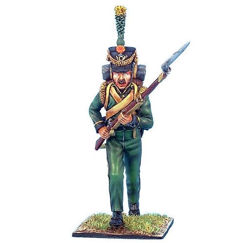 NAP0187 - 1st Nassau Infantry Regiment Voltigeur Charging