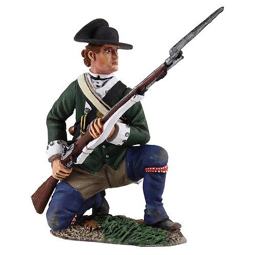 16029 - Loyalist Butler's Ranger Kneeling at Ready, 1780-1784