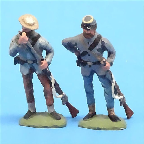 CORD-0816 - Confederates Loading (2 Figures) - ACW - Unknown Manufacturer - 54mm