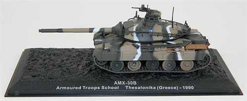 TKS055 - AMX-30B - Armored Troops School, Greece 1990