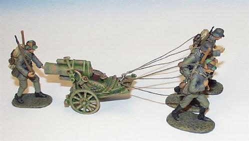 EGW.2 - 245 mm Trench Mortar, 4 Crew Towing, British Artillery