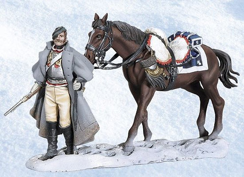 BH1013 - Walking Cuirassier with Horse