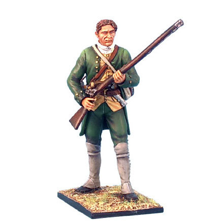 AWI009 - Continental Militia Standing Ready - Bareheaded