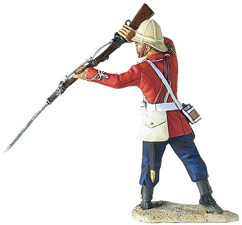 20142 - 3rd (East Kent) Regiment, The Buffs, Sgt. Milne Standing with Bayonet