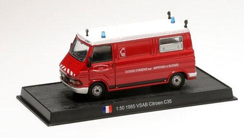 CBO120 - VSAB Citroen C35, 1985, France              Scale: 1:50