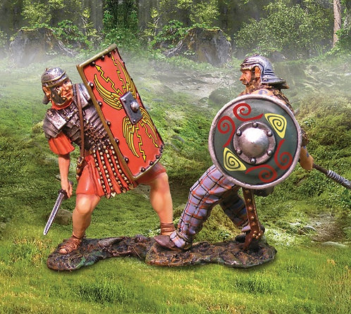 CS00633 - Celt Attacking Roman