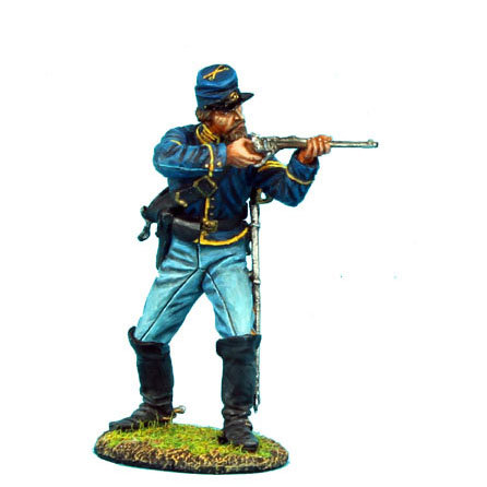 ACW033 - Union Dismounted Cavalry Trooper Standing Firing