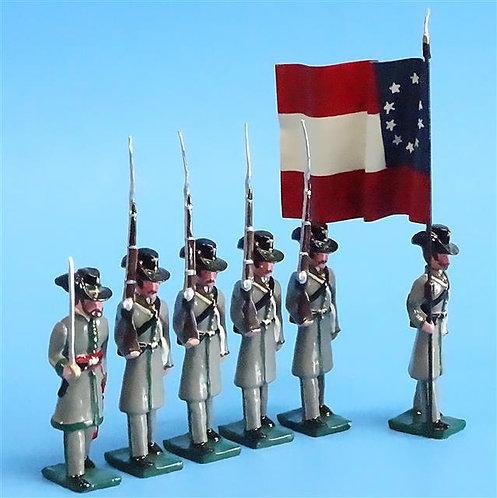 COWF-0101 - 1st Regiment, South Carolina Rifles 1861, Orr's Regt of Rifles, Flag