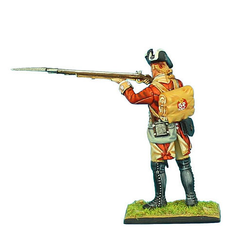 AWI049 - British 22nd Foot Standing Firing - Head Variant 2