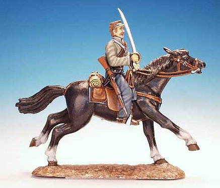 RC.13 - Trooper, Sword at the Ready, Confederate Cavalry