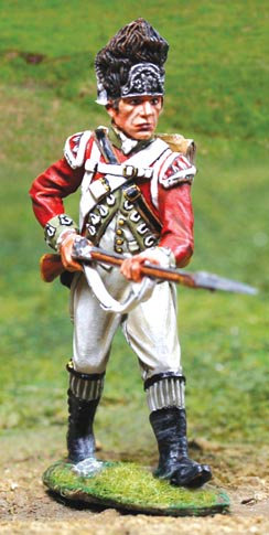 CS00836 - British Revolutionary War Advancing