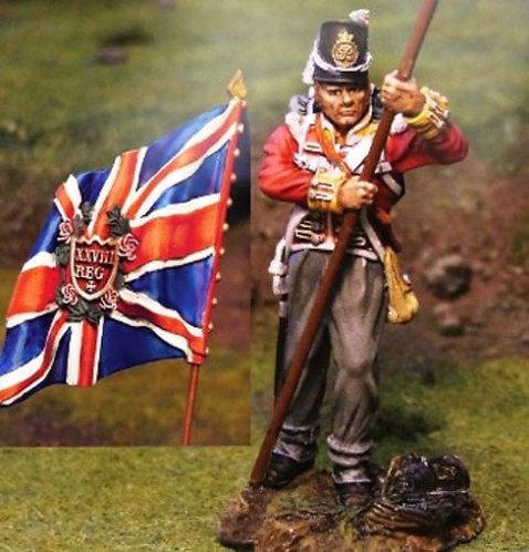 CS00314 - 28th Regiment King's Colours