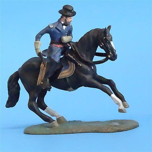 CORD-1107 - Union Cavalry Officer - ACW - Forward March - 54mm Metal - No Box