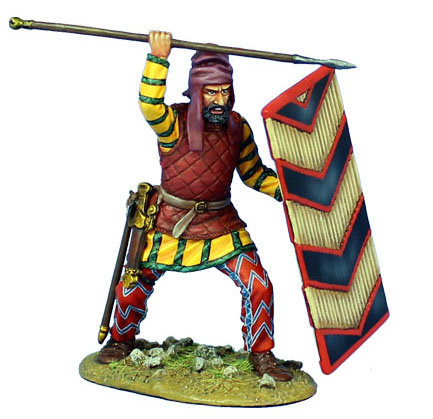 AG045 - Persian Heavy Infantry Shield Bearer #1
