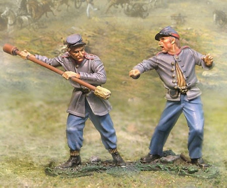 CS00448 - Confederate Artillery Ignitor and Swabber