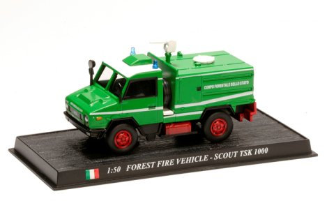 CBO063 - ISTSK 1000, Forest Fire Vehicle, Italy  Scale: 1:50