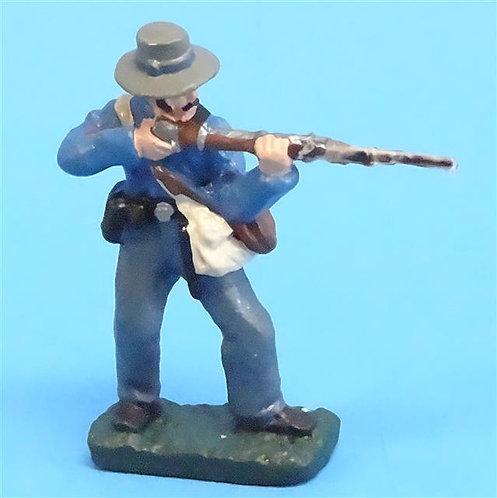 CORD-0870 Confederate Firing  - ACW - Unknown Manufacturer - 54mm Metal - No Box