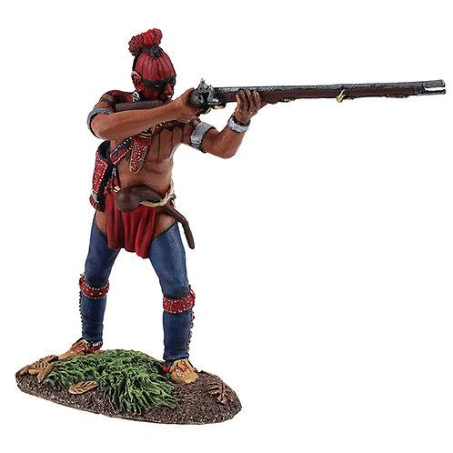 16034 - Eastern Woodland Indian Standing Firing No.1