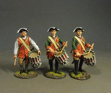 RRBPEN-09D - Pennsylvania Provincial Regiment, Drummers